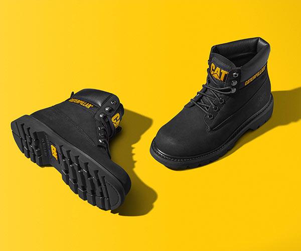 les chaussures en cuir de la marque caterpillar qui allient confort et style