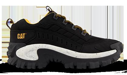 Les chaussures de la marque Caterpillar, modèle Intruder couleur noir